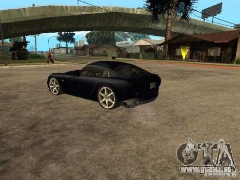 TVR Sagaris pour GTA San Andreas vue de droite