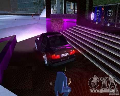 BMW M5 E34 1990 pour une vue GTA Vice City de la gauche