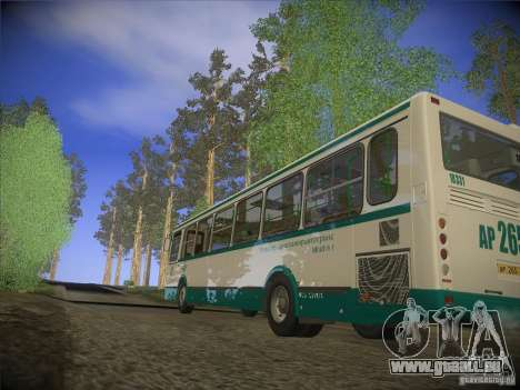 LIAZ-5256.26, version 2.1 pour GTA San Andreas vue intérieure