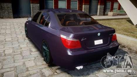 BMW M5 Lumma Tuning [BETA] pour GTA 4 Vue arrière de la gauche
