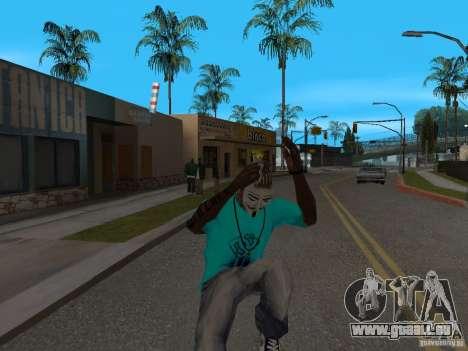 Guy Fawkes Maske für GTA San Andreas dritten Screenshot