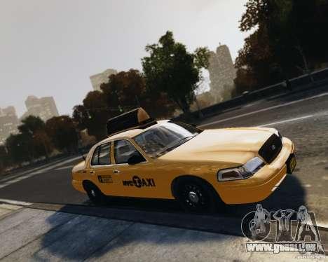 Ford Crown Victoria NYC Taxi 2012 pour GTA 4 est un côté
