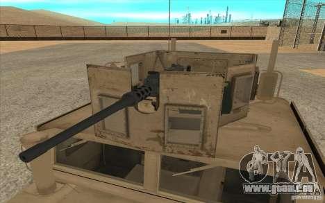 Hummer H1 Military HumVee für GTA San Andreas rechten Ansicht