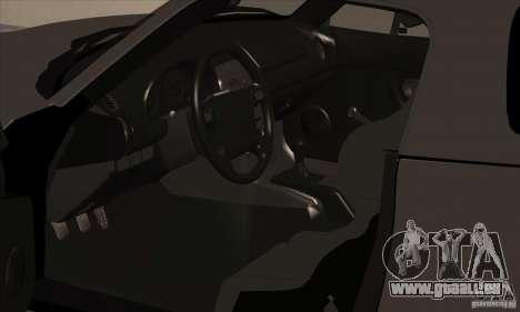 Mazda MX-5 pour GTA San Andreas vue arrière