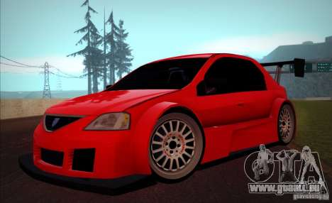 Dacia Logan Trophy Edition 2005 pour GTA San Andreas