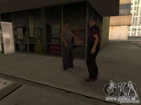 Lebendige Raum v1. 0 für GTA San Andreas zweiten Screenshot
