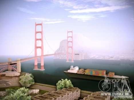 New ENBSeries pour GTA San Andreas cinquième écran