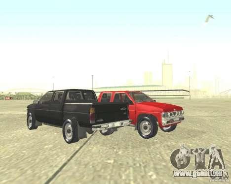 Nissan Datsun pour GTA San Andreas sur la vue arrière gauche