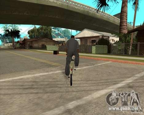 Nouveau vélo pour GTA San Andreas laissé vue