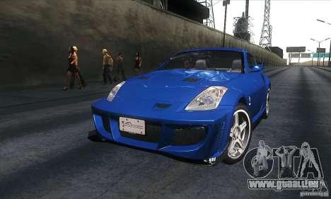 Nissan 350Z Varis für GTA San Andreas