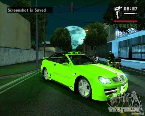 Mercedes-Benz CLK500 pour GTA San Andreas