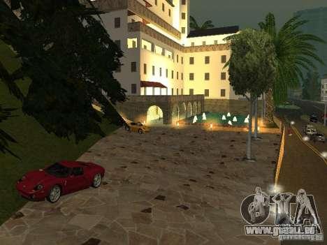Mega Cars Mod pour GTA San Andreas deuxième écran