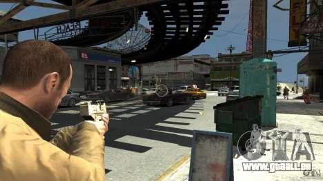 Uzi Skin für GTA 4 Sekunden Bildschirm
