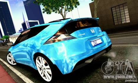 Honda CR-Z 2010 V2.0 für GTA San Andreas zurück linke Ansicht