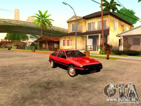 Toyota Corolla Carib AE 86 pour GTA San Andreas