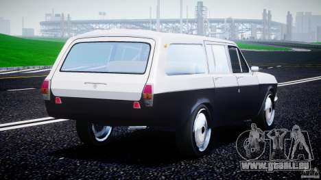 GAZ 24-12 1986-1994 Stock Edition v2.2 pour GTA 4 Vue arrière de la gauche