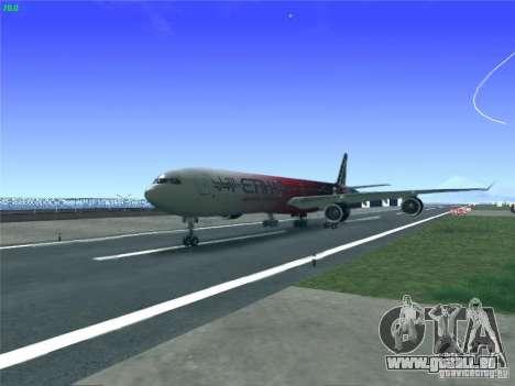 Airbus A340-600 Etihad Airways F1 Livrey für GTA San Andreas