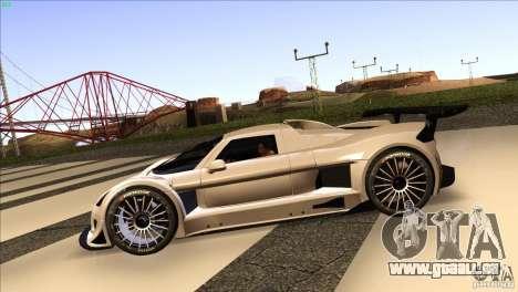 Gumpert Apollo für GTA San Andreas rechten Ansicht