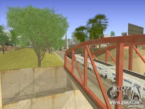 Wagon-tombereau 12-196-01 pour GTA San Andreas vue de droite
