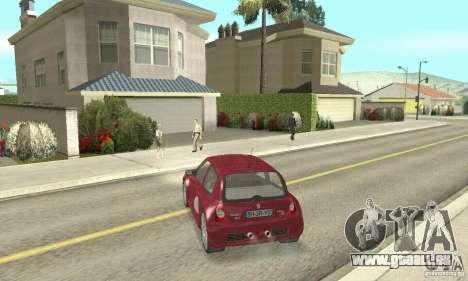 Renault Clio Phase 2 pour GTA San Andreas laissé vue