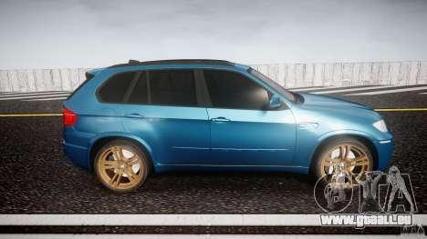 BMW X5 M-Power wheels V-spoke pour GTA 4 est une vue de l'intérieur
