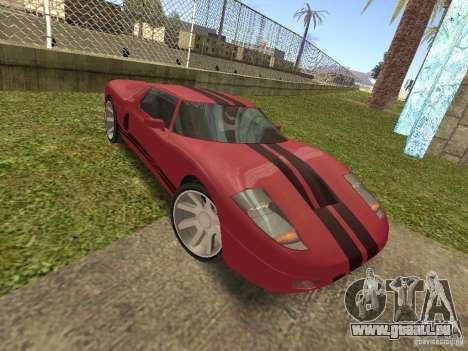 Bullet HQ pour GTA San Andreas vue arrière