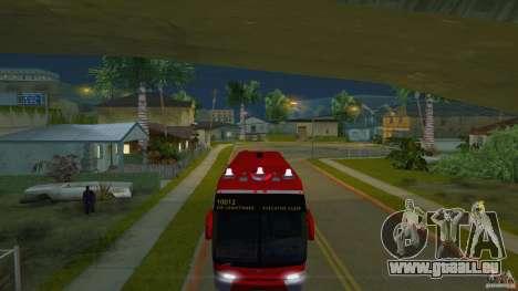 Rural Tours 10012 pour GTA San Andreas sur la vue arrière gauche