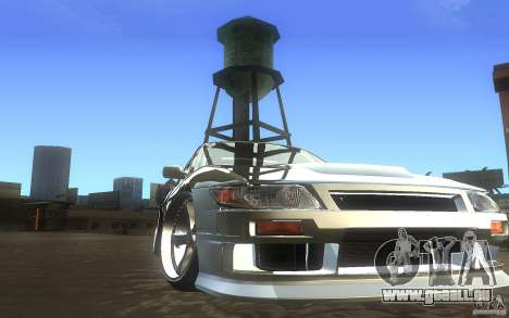 Nissan Silvia S13 Odyvia pour GTA San Andreas vue arrière