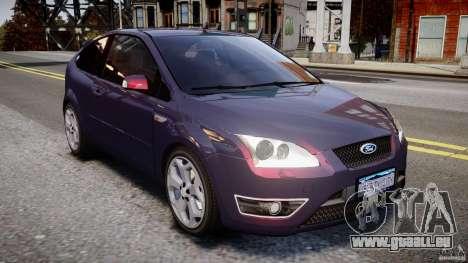 Ford Focus ST MkII 2005 für GTA 4