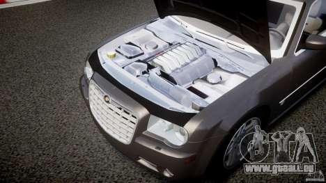 Chrysler 300C 2005 pour GTA 4 est une vue de l'intérieur