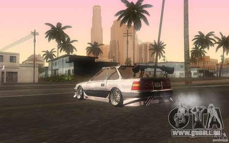 Toyota Soarer GZ20 für GTA San Andreas zurück linke Ansicht