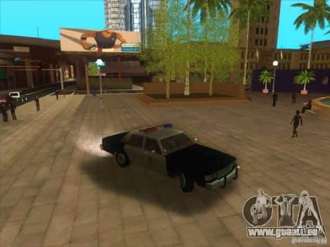 Chevrolet Caprice Interceptor LAPD 1986 pour GTA San Andreas