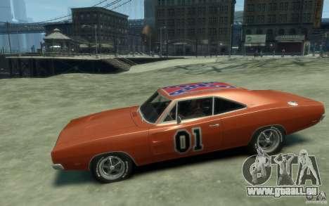 Dodge Charger General Lee v1.1 für GTA 4 linke Ansicht