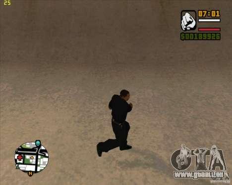 39 animations du jeu Assassin's Creed pour GTA San Andreas troisième écran