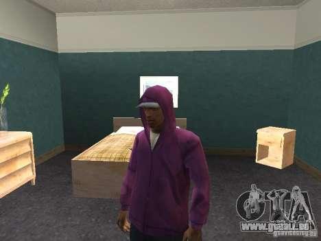 Hotte pour GTA San Andreas cinquième écran