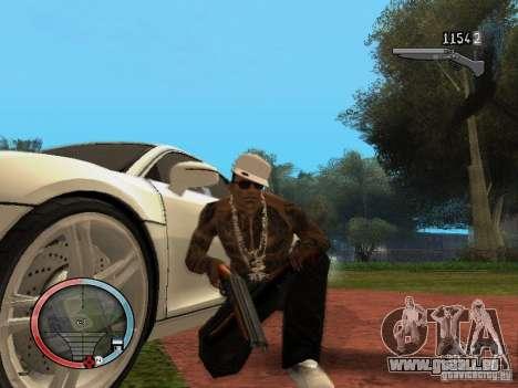 GTA IV HUD Final für GTA San Andreas