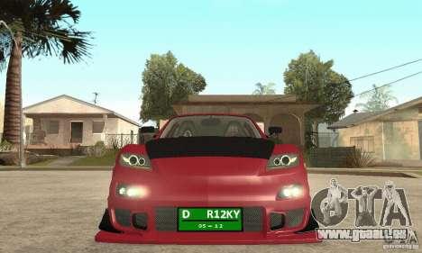 Mise en marche du moteur et les phares pour GTA San Andreas deuxième écran