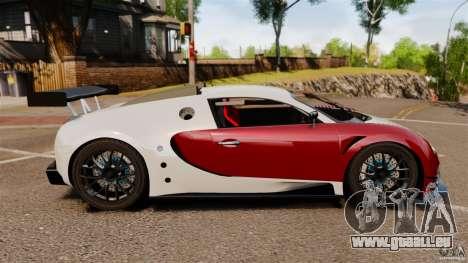 Bugatti Veyron 16.4 Body Kit Final Stock pour GTA 4 est une gauche