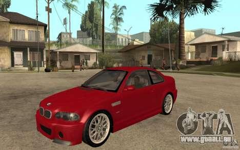 BMW M3 CSL für GTA San Andreas