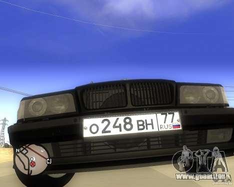 BMW 740il e38 pour GTA San Andreas vue de droite