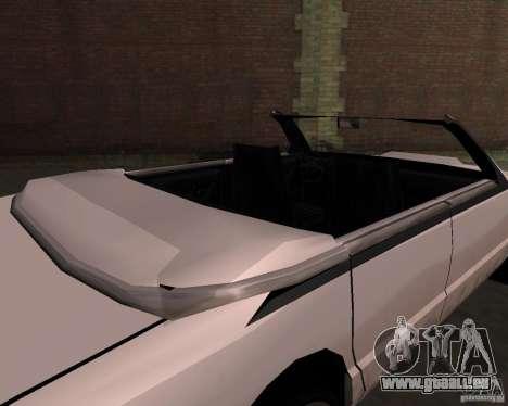 Taxi Cabrio für GTA San Andreas rechten Ansicht