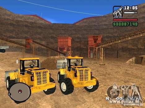 Caterpillar T530 pour GTA San Andreas vue de droite