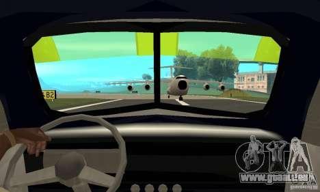 Chevy Towtruck COE 1946 pour GTA San Andreas vue arrière