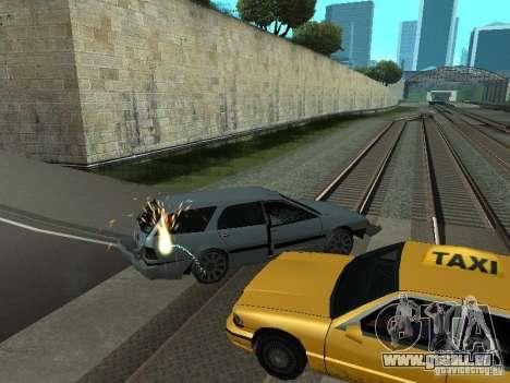 Die realistische Blast-Maschinen für GTA San Andreas