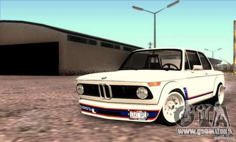 BMW 2002 Turbo pour GTA San Andreas