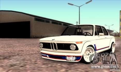 BMW 2002 Turbo für GTA San Andreas
