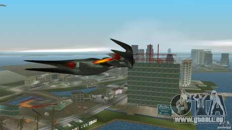 VX 574 Falcon pour GTA Vice City sur la vue arrière gauche
