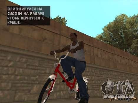 Tair GTA SA Rad Rad für GTA San Andreas Seitenansicht