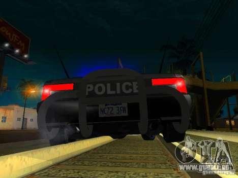 San-Fierro Sultan Copcar für GTA San Andreas Seitenansicht