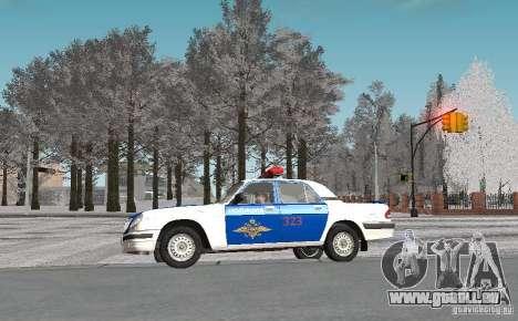 DPS VOLGA GAZ-31105 v2.0 pour GTA San Andreas vue intérieure